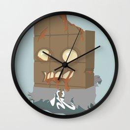 Zombie Crunch Bar Wall Clock