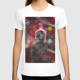 color snow T-shirt