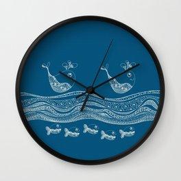 Swimtangle Wall Clock