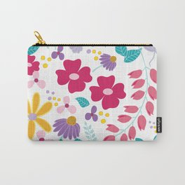 field of flowers by adriana carusi-diliberto Carry-All Pouch
