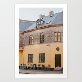 Copenhagen Sunny Corner Art Print