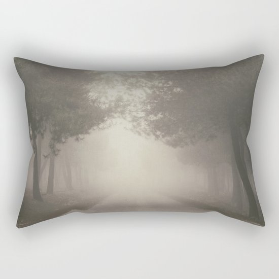 Mystery road.... Rectangular Pillow