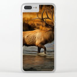 Madison Bull Clear iPhone Case