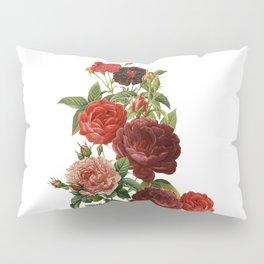 Vintage & Shabby Chic - Red Roses Pillow Sham