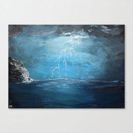 Thunderstorm - Acrylic Canvas Print