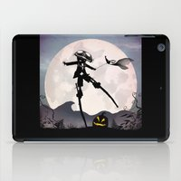 jack skellington iPad Cases featuring Jack Skellington Kid by Andy Fairhurst Art