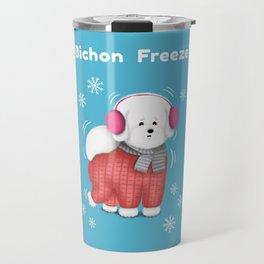 Bichon Freeze Travel Mug
