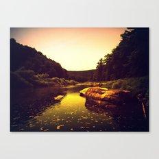 Let the Creek Take You Away Canvas Print