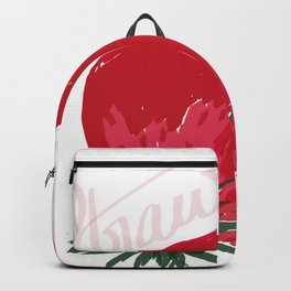 Beautiful strawberry Backpack