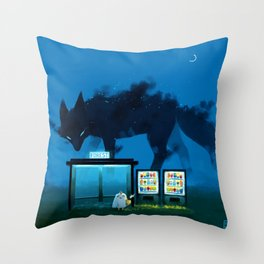 Early hours Throw Pillow