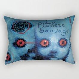 La Planete Sauvage Rectangular Pillow