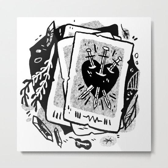 Tarot talk Metal Print