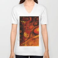 the mortal instruments V-neck T-shirts featuring This Mortal Coil by Aurora Art