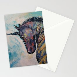 Dark Unicorn Stationery Cards