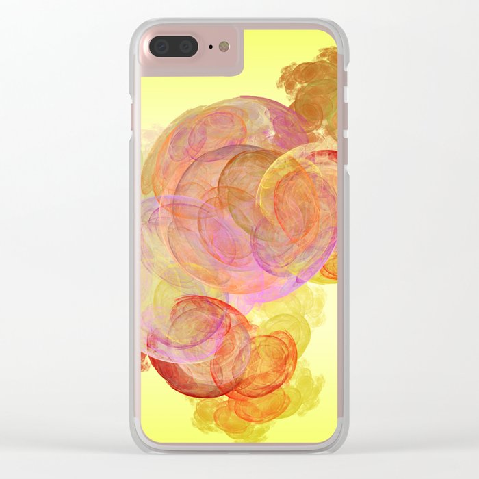 live   (A7 B0245) Clear iPhone Case