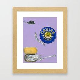 Caviar and Sardines part I Framed Art Print