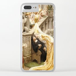 Edmund Blair Leighton - Alain Chartier Clear iPhone Case