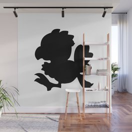 Baby Chocobo Black Wall Mural