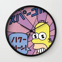 Mr Sparkle Wall Clock