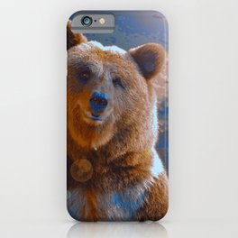 Courage & Tenderness (Painting) iPhone Case