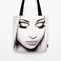 nicki Tote Bags featuring  Nicki  by Bella Harris