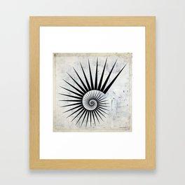 Fibonaaci Framed Art Print