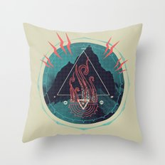 Mountain of Madness Throw Pillow