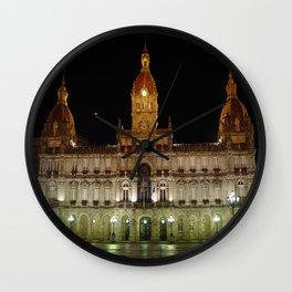 El Ayuntamiento de Coruña Wall Clock