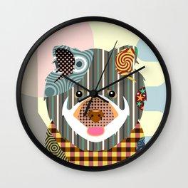 Chow Chow Wall Clock