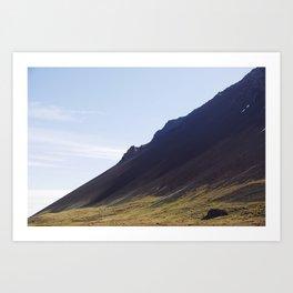 Obliquo, Iceland Art Print