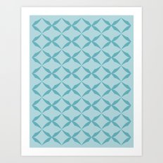 ocean kiss Art Print