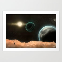 A Frontier Conquered Art Print