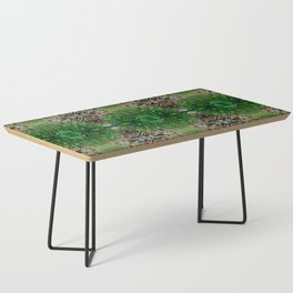 Cocoplum and Cattails op nature pattern Coffee Table