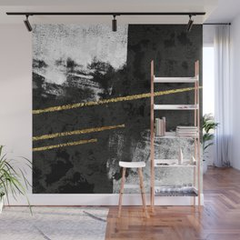 Gilded Grit Wall Mural