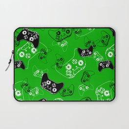 Video Game Green Laptop Sleeve