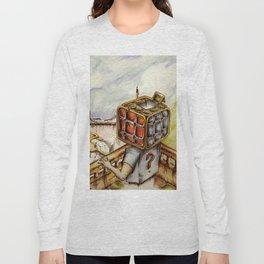 """Cubical"" Long Sleeve T-shirt"