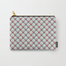Bulbuous CHERRY MINT Carry-All Pouch