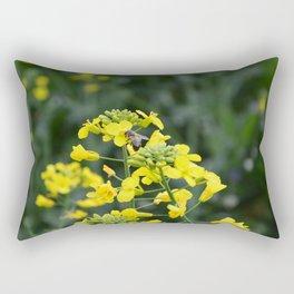 The yellow Rectangular Pillow