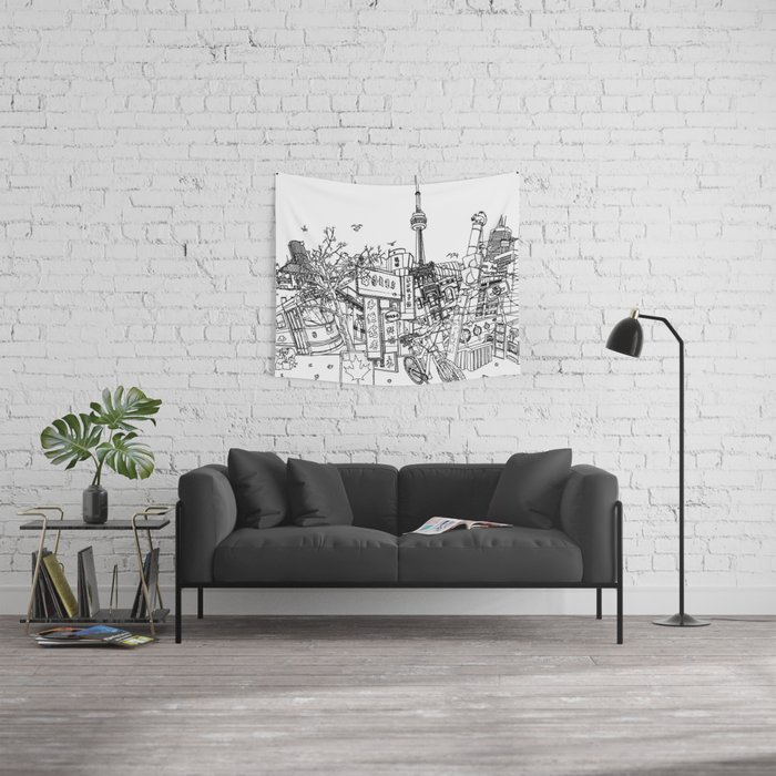 Toronto! Wall Tapestry