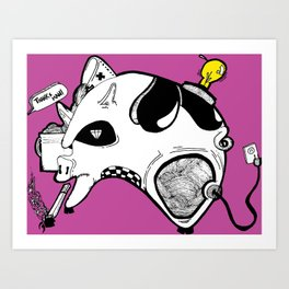 Hog Factory Art Print