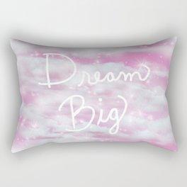 Dream Big in Pink Rectangular Pillow