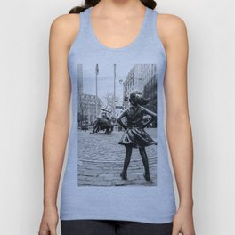 Fearless Girl & Bull - NYC Unisex Tank Top