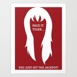 Spiderman - Mary Jane 'Jackpot' Art Print