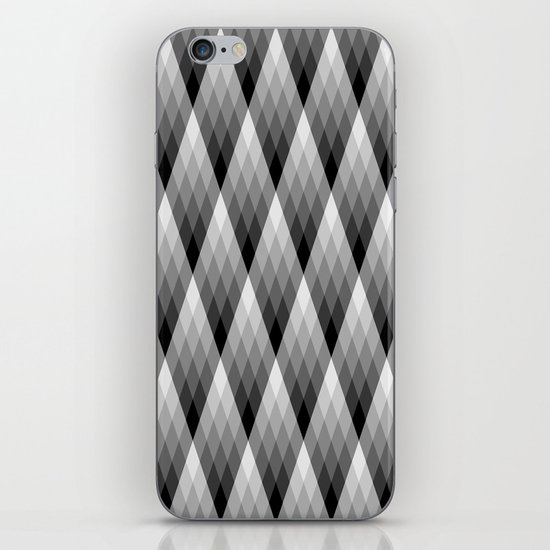 Silvery iPhone & iPod Skin