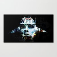 android Canvas Prints featuring Android by Studio46