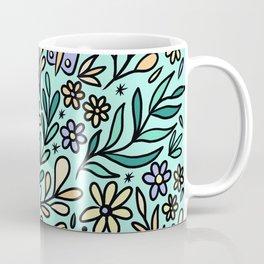 Butterflies and Bee Coffee Mug
