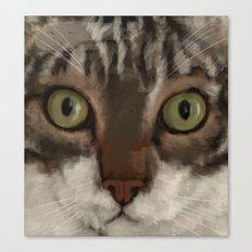 Cat Closer Canvas Print