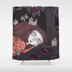 Tree of Forever Dreams Shower Curtain