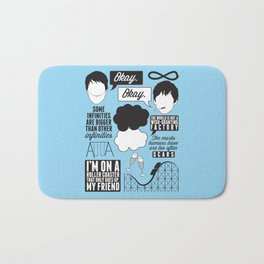 The Fault In Our Stars Collage Bath Mat