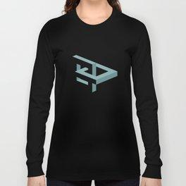 Squares Linked Long Sleeve T-shirt